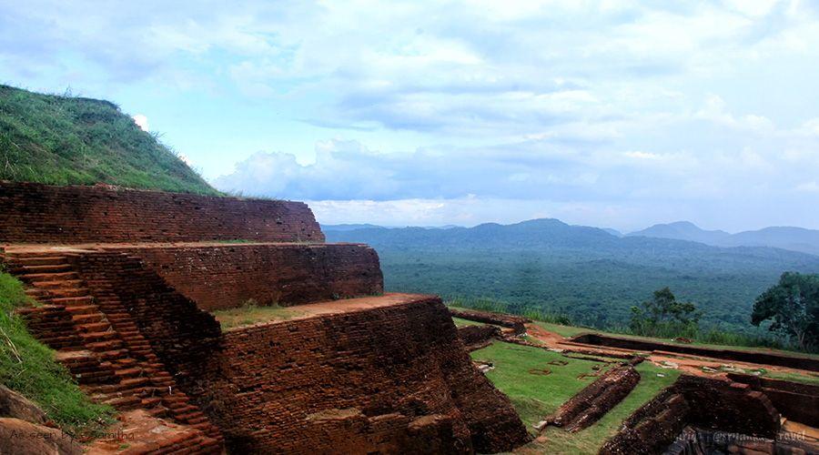 The Ruins Of The Ancient City Of Sigiriya In Sri Lanka Mostbeautiful
